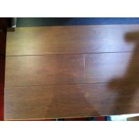 Buy cheap Solid flooring with hand-scraped and colored bamboo flooring with lacquer surface from wholesalers