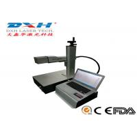 Buy cheap Metal / Non Metal Laser Marking Machine 20-80KHZ from wholesalers