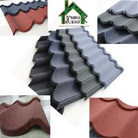 Buy Customized Color Stone Coated Metal Roofing Sheets thickness 0.38-0.50mm at wholesale prices