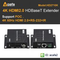 Quality 4K 60HZ HDMI 2.0  Extender and Support POC Extender for sale
