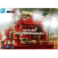 Quality FM Approval Netherlands Original DeMaas Fire Pump Diesel Engine Used In The Fire Water Pump Set With High Speed for sale