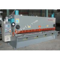 Quality CNC controller 6mm 4m Hydraulic Guillotine Shearing Machine with CE for sale