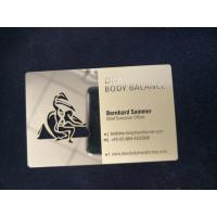 China ISO CR-80 Standard Business Gold Card With 4 Color Offset Printing Embossing Number on sale