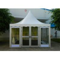 Quality Well-Designed Small Banquet Dinner Clearspan Structure Tent With Glass Wall for sale