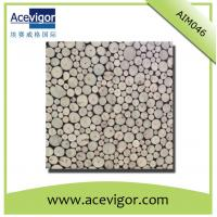 Quality Round mosaic wall tiles for indoor decoration for sale