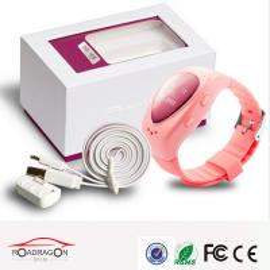Quality Personal wrist watch gps tracking device Via Wifi / Sim Card child gps tracker watch for sale