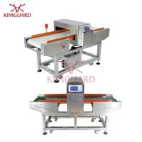 China Touch Screen Conveyor Type Needle Metal Detector Food Safety For Dry Seafood on sale