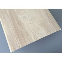 Quality 30cm High Glossy Pvc Wood Panels Fire Resistance For Hospital / Living Room for sale