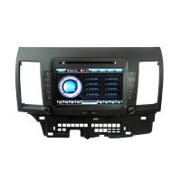 Quality 480P Radio Amplifier 3G Remote Control Mitsubishi Lancer Navigation / Mitsubishi DVD Player ST-8937 for sale