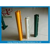 Quality Xinlong Fence Post Accessories Square Fence Posts Pvc Coating Anti Corrosion for sale