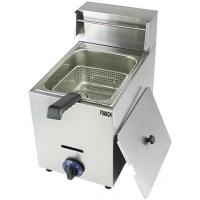 Quality Econic Type Gas Fryer Table Top 10 Liter Stainless Steel Body 1 Tank 1 Basket Gas Fryer FMX-WE71 for sale