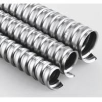 "Quality 1/2"" Metal Flexible Electrical Conduit Pipe For High Speed Rail Subway Equipment for sale"