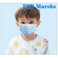 Quality Boys  Girls Kids Face Mask Disposable Children'S Medical Masks 4 - 12 Years for sale