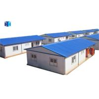 China eco-friendly durable gable roof kit prefabricated steel house parts australia on sale