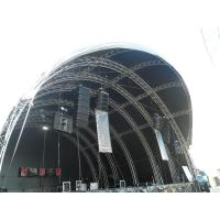 Buy Silver Alloy Aluminum Stage Truss / Metal Roof Trusses For Lighting at wholesale prices