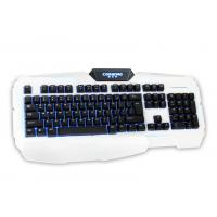 Quality Professional ergonomic multi color gaming keyboard , illuminated wired keyboard backlit for sale
