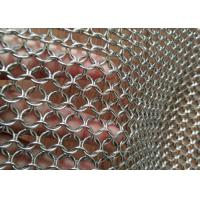 Buy cheap AISI 304 316 Metal Mesh Drapery 1.2mm Wire 10mm For Space Divider / Sun Screen from wholesalers