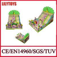 Buy cheap 0.55 Mm Plato pvc New Happy Fun Peacock inflatable slide for sale certificate bt from wholesalers