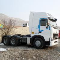 Quality RHD 420 HP Prime Mover Truck / Sinotruk Howo Tractor 6x4With 3.5 Inch King Pin for sale