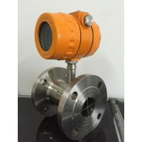 China Environmental protection performance Turbine Flow Meter With Stainless Steel Body on sale