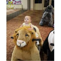 China Hansel coin operated entertainment battery powered animals riding toy on sale