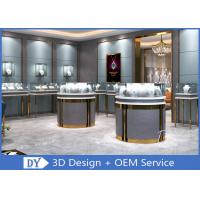 Quality 3D Design Store Jewelry Display Cases In Custom Size Logo / Jewellery Shop Furniture for sale