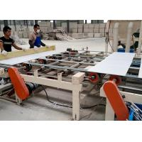 Quality PLC controlled Sheetrock PVC and Aluminum Foil Double Side Laminating Machine for sale