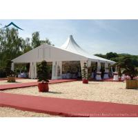 Quality White Mixed Wedding Reception Tents 10m* 30m Aluminum Tents For Exhibition for sale