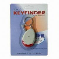 Quality Key Finder Keychains with ABS Material for sale