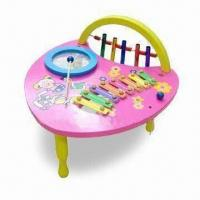 Quality Wooden Music Table Toys, Measures 31 x 35.5 x 36cm for sale