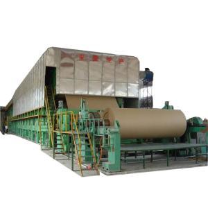 China craft paper 230m/Min 3800mm Wood Pulp Making Machine on sale