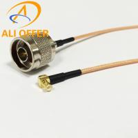Quality High Quality MCX Male Right Angle Switch N Male Plug Pigtail with 15cm RG316 Cable,MCX to N Single Pigtail for sale