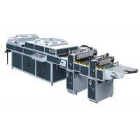 Quality UV Thick / Thin Paper Threerollers Uv Coating Equipment Automatic Two Coaters SDSG-1200C for sale