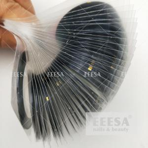 Quality Nails Design Laser Black Metalic Chrome Stripe Tape Line Nail Art Decoration Yarn for sale
