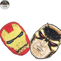 China Marvel Hero Decorative Iron On Patches / Decorative Patches For Jackets on sale