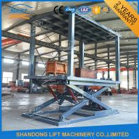 Quality Vertical Double Deck Car Parking System , Hydraulic personal lifts for home use for sale