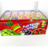 Buy Colorful Multi Fruit Flavor Twist Lollipop Sweet And Healthy with Fluorescent at wholesale prices