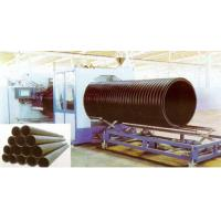 Quality Hollow Wall HDPE Pipe Extrusion Machine , 200 - 2000mm Large Diameter for sale