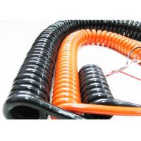 Quality Coiled Power Cord Spring Coiled Electrical Wire For Signal Transmission for sale