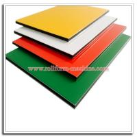 Quality High Quality 4mm Thickness Aluminium Compoiste Panel (ACP) with PE/PVDF Color Coating for sale