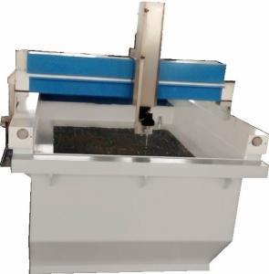 China Gantry Glass processing X Y Z axis travel cnc waterjet cutting machine on sale
