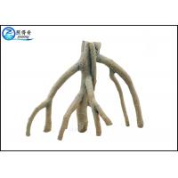 Quality Environmental Polyresin Tree Stump Fish Aquarium Craft For House Decorating for sale