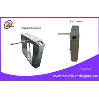 China RFID Fingerprint Stainless Steel Box Tripod Turnstile Gate Durable 50w DC 24v on sale
