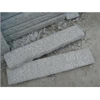 Quality Thin Edging Light Grey Granite Curbstone, Kerbstones for Street for sale
