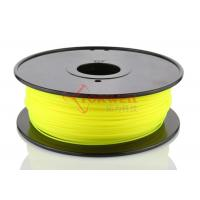 Quality Yellow 3D Printer Materials High Strength , 1.75mm PLA Filament for sale