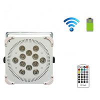 Quality Pro Sound 12PCS 5in1 15W Wireless Led Par Lights With Battery For Wedding Light Effect for sale