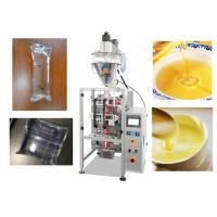 Quality Stainless Steel Automatic Liquid Pouch Packing Machine0.5 - 1% High Accuracy for sale
