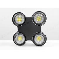 Buy cheap DMX 4*100W Led Eyes Stage Lighting Warm / Cold Audience Blinder Cob Lights from wholesalers