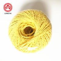 Quality UV Treated 100% Virgin Polypropylene Twine Rope Lasing And Packing 1 - 5mm for sale
