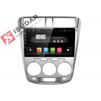 Quality Honda City Head Unit Android Car Navigation System With 4G WIFI 2G RAM 16G ROM for sale